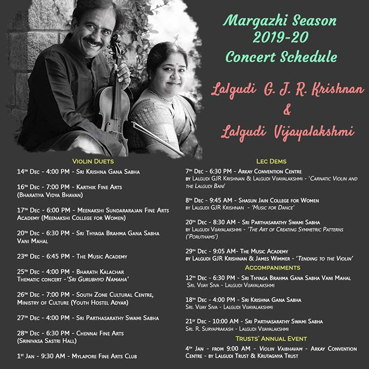 Margazhi Season 2019-20